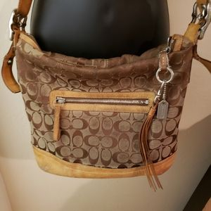 Coach bag (used/worn so selling for super cheap!)